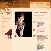 Сайт оперной певицы